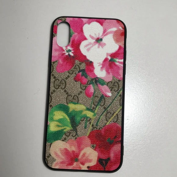 best authentic 11d78 8db64 iPhone XS Max pink bloom case